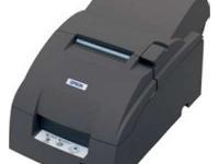 Impresora Epson TM-U220A, matriz de 9 pines, velocidad de impresión 4.7 - 6.0 lps., Suministro ERC-38, impresión de papel original y copia, interfaz USB.