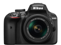 CAMARA DIGITAL NIKON REFLEX D3400 NEGRO CON LENTE 18-55MM AF-P + 01 UND. TARJETA SD 16GB KINGSTON CLASS 10 + 01 UND. BOLSO REFLEX NEGRO 1419F NIKON