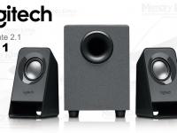 Parlantes Logitech Z211, 4 Watts (RMS), USB, subwoofer, conector para auriculares, Sistema de audio 2.1, 2 bocina satélites 1.5 watts RMS x 2, control de bajo, color negro.
