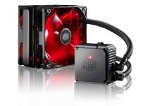 SISTEMA DE ENFRIAMIENTO LIQUIDO COOLER MASTER CM 120V V3 PLUS RED (Water Cooling) LGA 2011-3 /  2011/1156/1155/ 1150/1366/775  FM2 + / FM2 / FM1 / AM3 + / AM3 / AM2 + / AM2