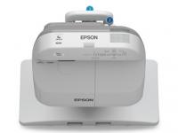 Proyector interactivo Epson BrightLink 575Wi+, 2700 lúmenes, WXGA 1280 x 800, Tecnología de proyección 3LCD 3-chip, contraste 10000:1, conectores VGA / S-Video / HDMI / RCA / USB A
