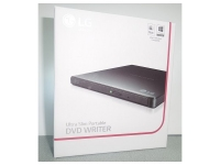LECTORA EXTERNA DVD SUPERMULTIL LG GP65NB60, 8X, USB 2.0, Formatos soportados M-DISC / CD-R / CD-RW / DVD+R / DVD+R DL / DVD+RW / DVD-R / DVD-R DL / DVD-RAM / DVD-RW.