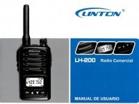 RADIO PROFESIONAL LH200  LINTON 5KM 100CH UHF