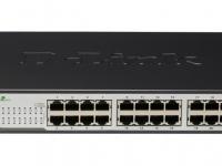 Switch D-Link DGS-1024D, 24 RJ-45 10/100/1000 Mbps, Auto MDI/MDIX