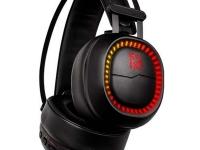 Auriculares TteSports Shock Pro RGB, Iluminación RGB,micrófono, 3.5mm, Negro.