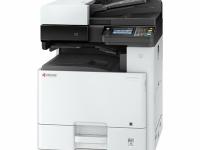 FOTOCOPIADORA Multifuncional láser Kyocera ECOSYS M8124cidn | imprime/escanea/copia/fax, USB 2.0/LAN.  Imprime 24 ppm EN T/A3, A4, a 1200 x 1200 ppp impresión / 600 x 600 ppp escan