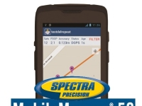 GPS SPECTRA PRECISION MOBILEMAPPER 50 Kit comprende: Gps submetrico + antena tipo plato +  cable + baston y braket