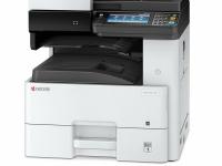 FOTOCOPIADORA Multifuncional láser Kyocera M4125DN imprime/escanea/copia/fax, USB 2.0/LAN.  Imprime 25 ppm EN T/A3, A4, a 600 x 600 dpi